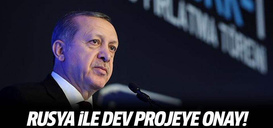 Erdoğan Rusya ile dev anlaşmayı onayladı!