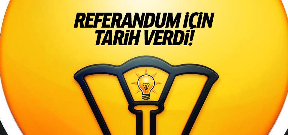 Başkanlık referandumu için tarih belli oldu: 23 Nisan!