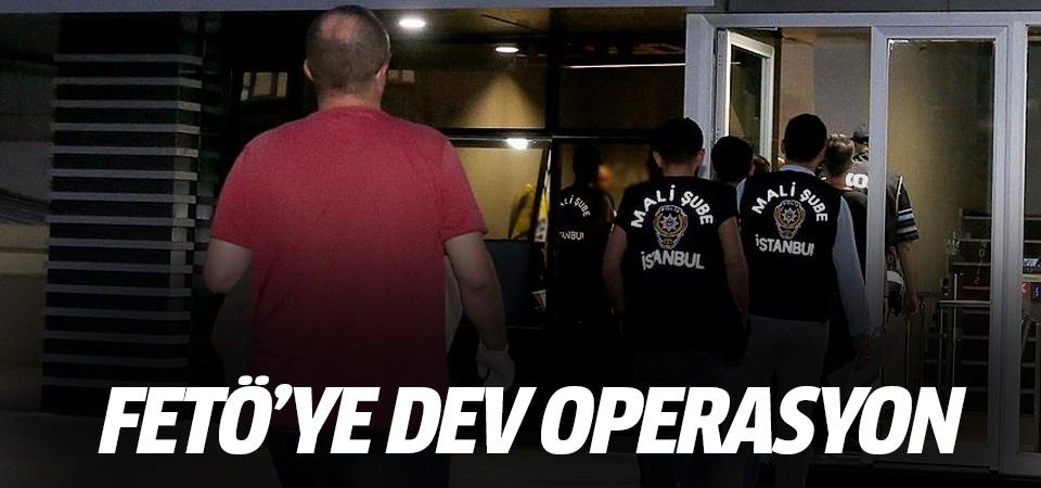 16 ilde FETÖ'nün üst düzey yöneticilerine operasyon