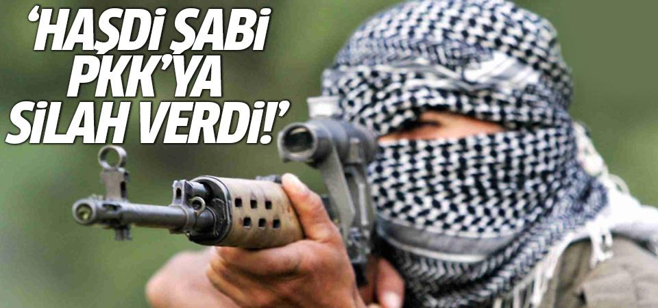 'Haşdi Şabi, PKK'ya silah verdi'
