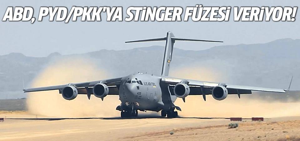 ABD, PYD/PKK'ya Stinger füzesi veriyor