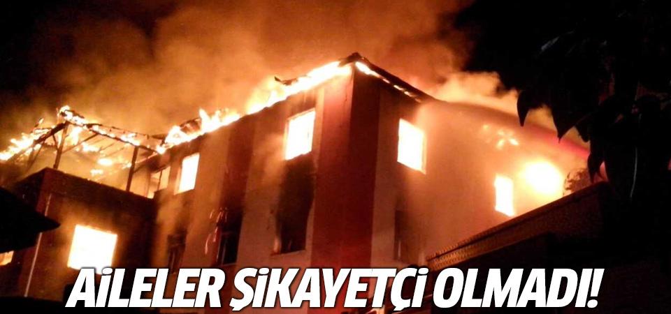 Aladağ'daki yangın için aileler şikayetçi olmadı