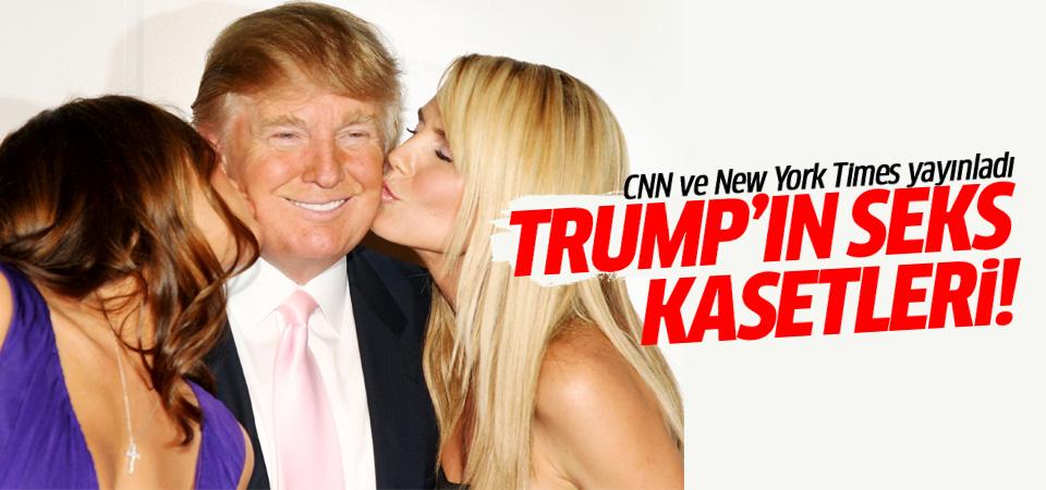 Şok iddia: Trump'ın seks kasedi Ruslar'ın elinde!