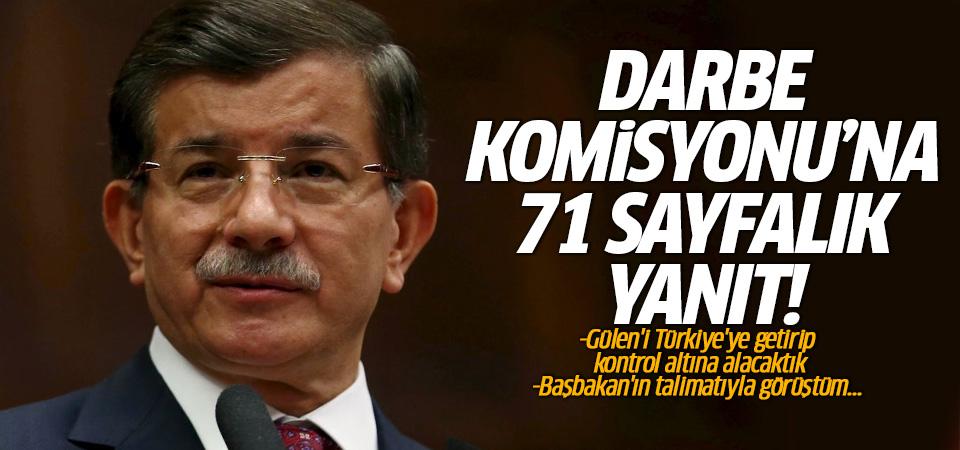 Davutoğlu: Gülen'i Türkiye'ye getirip kontrol altına alacaktık