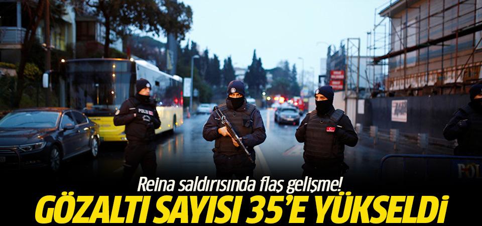 Reina'daki saldırıda gözaltı sayısı 35'e yükseldi