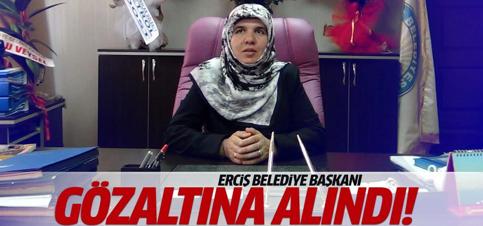 Van Erciş Belediye Başkanı gözaltına alındı!