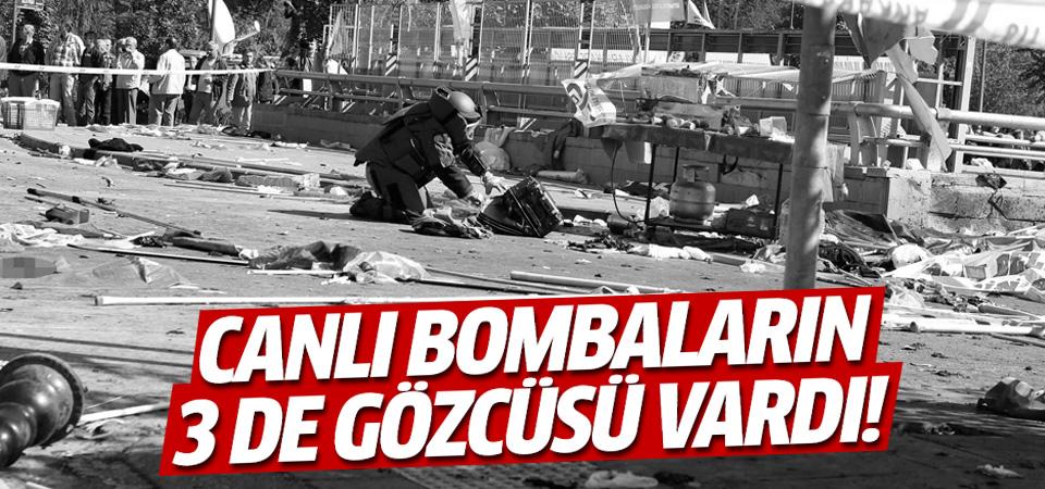 Ankara'daki bombacılarının en az 3 gözcüsü vardı!