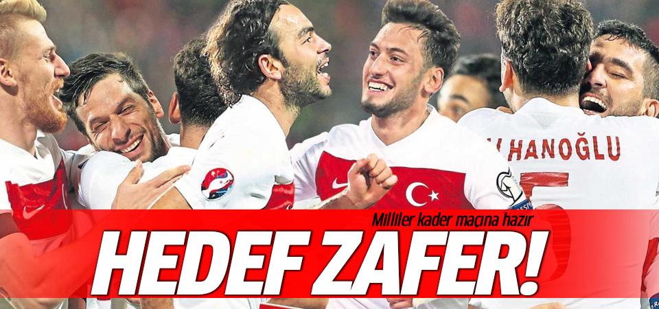 Türkiye kader maçına hazır!