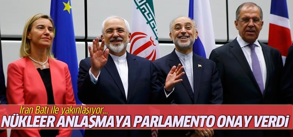 İran parlamentosu nükleer anlaşmaya onay verdi