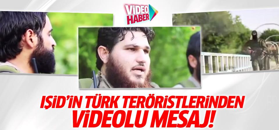 IŞİD'in Türk teröristleri video çekti!