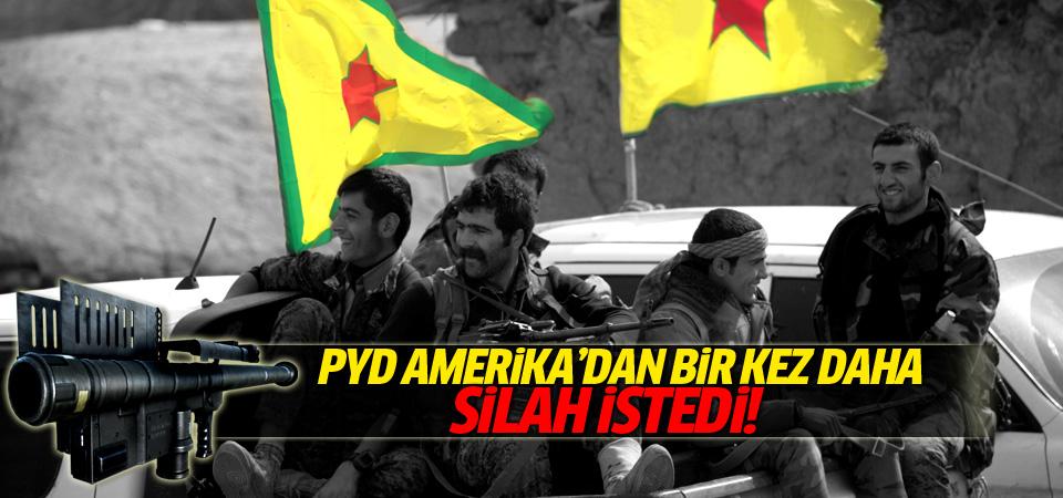 PYD Amerika'dan bir kez daha silah istedi!