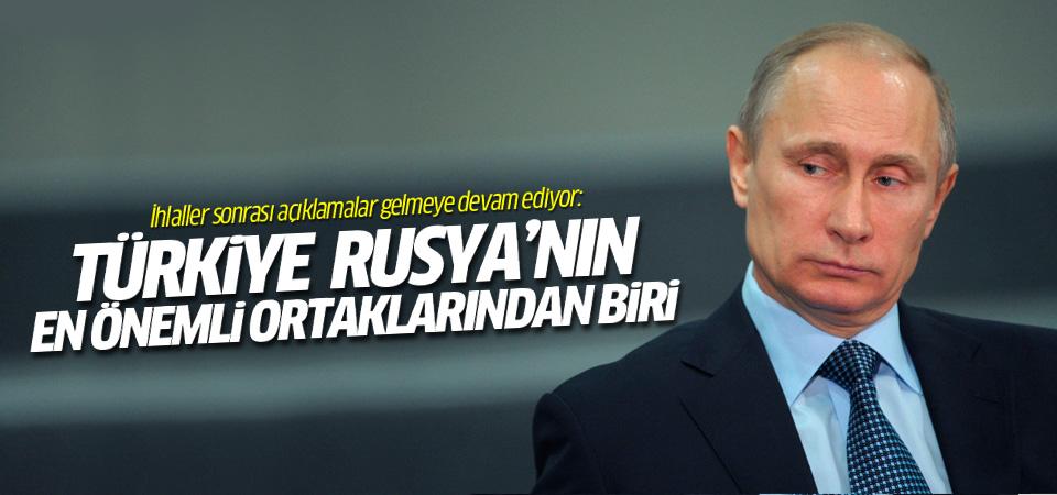 Putin: Türkiye Rusya'nın EN önemli ortaklarından biri