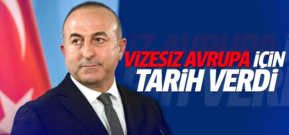 Çavuşoğlu'ndan vize açıklaması