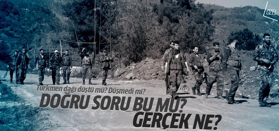 Türkmen Dağı düştü-düşmedi tartışmasının anlamsızlığı