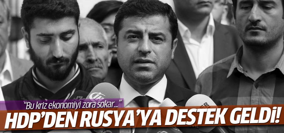 HDP'den Rusya'ya destek!
