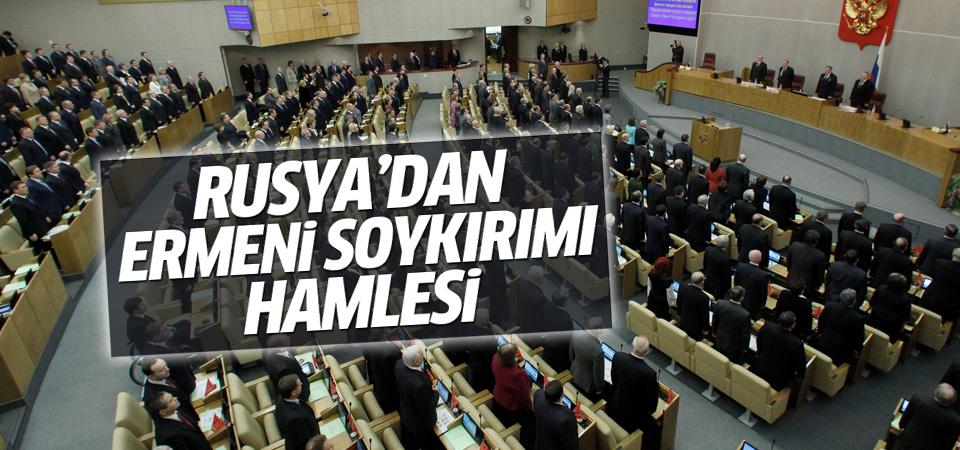 Rusya'dan Ermeni soykırımı kararı!