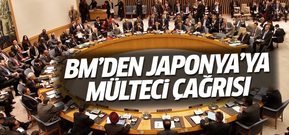BM'den Japonya'ya Suriyeli mülteci çağrısı