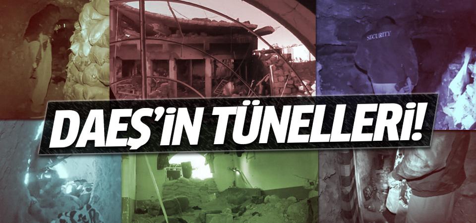 DAEŞ'in Irak'taki 40 yeraltı tüneli ortaya çıktı!