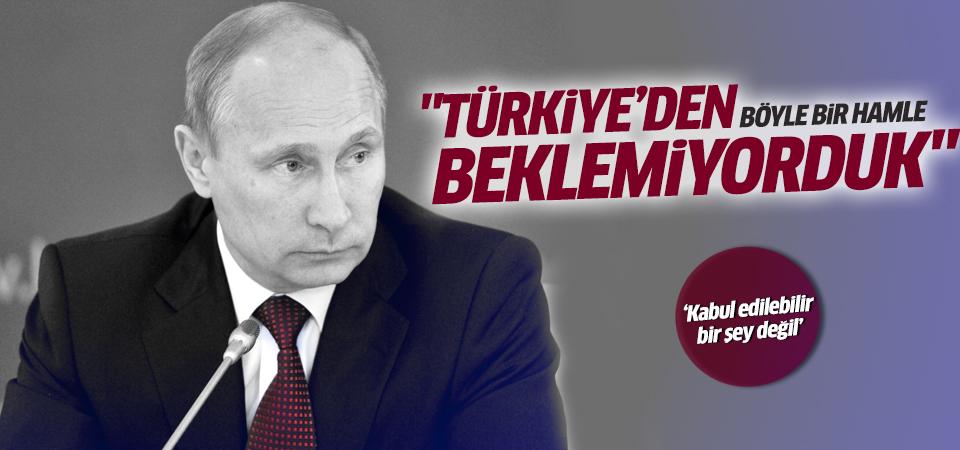 Putin'den bir açıklama daha!