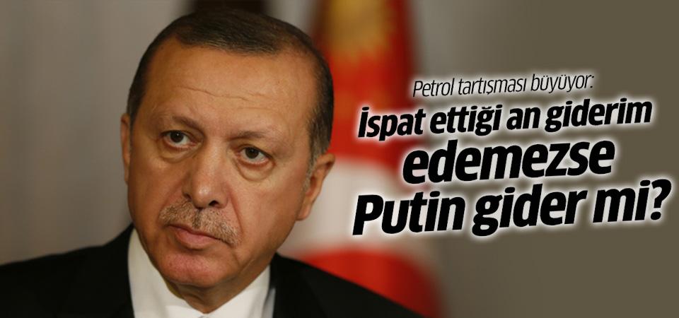 Erdoğan'dan Putin'e bir kez daha 'petrol' cevabı