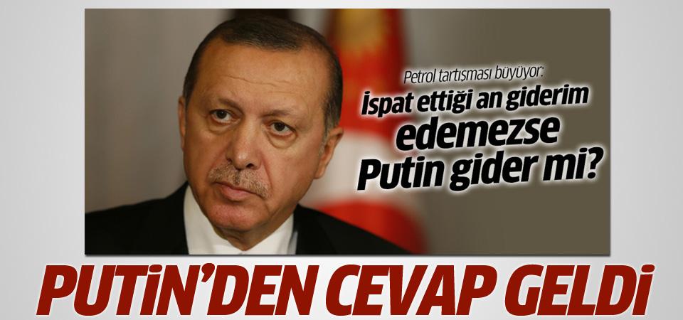 Putin'den Erdoğan'a istifa cevabı