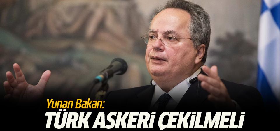 Yunanistan'dan Kıbrıs açıklaması: Türk askeri çekilmeli