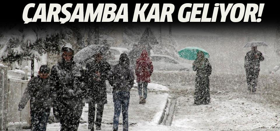 İstanbul'a kar geri dönüyor
