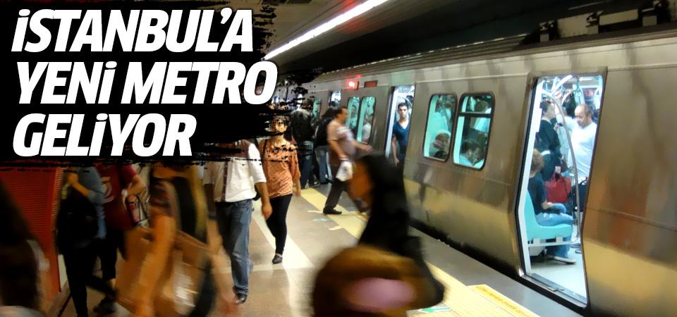 İstanbullulara yeni metro müjdesi!
