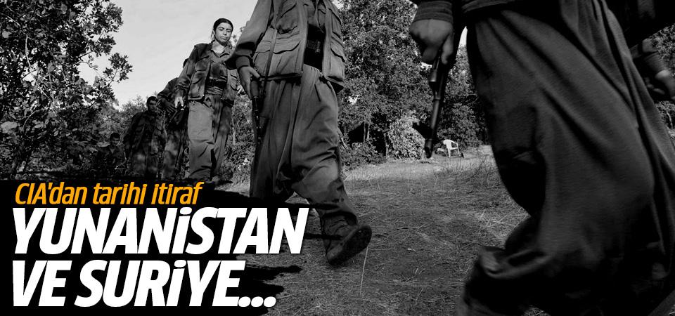 CIA'dan tarihi itiraf! Esed ve Yunanistan'ın PKK'ya desteğini belgeledi