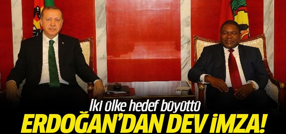 Erdoğan'dan 500 milyon dolarlık hedef