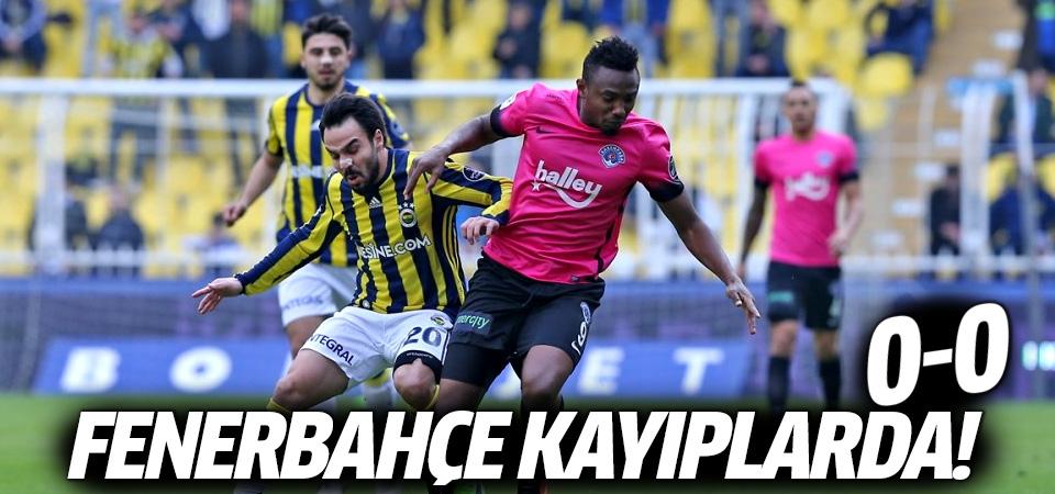 Fenerbahçe Kasımpaşa maçı geniş özeti!