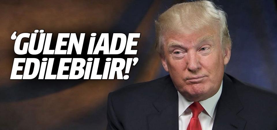 Trump'ın AB adayı Ted Malloch : Gülen iade edilebilir!