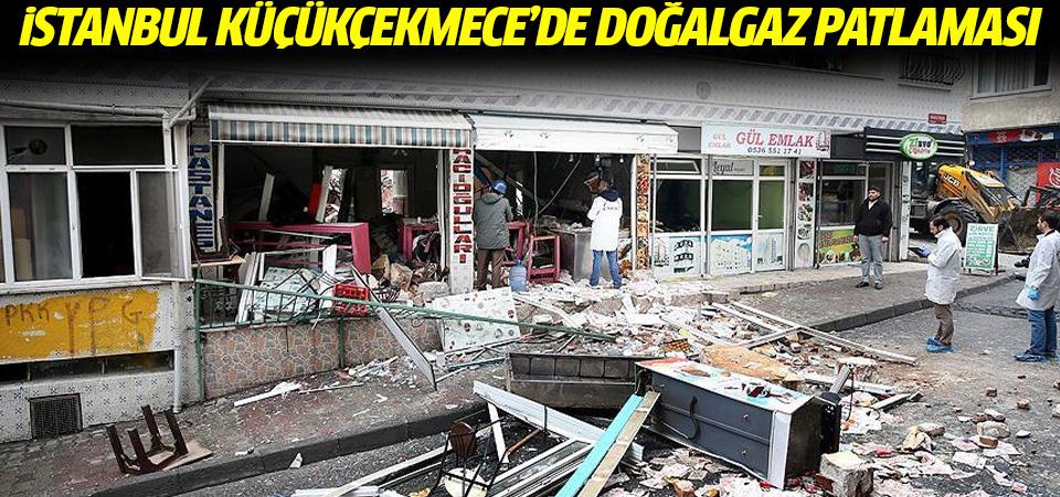 İstanbul'da bir pastanede doğalgaz patlaması