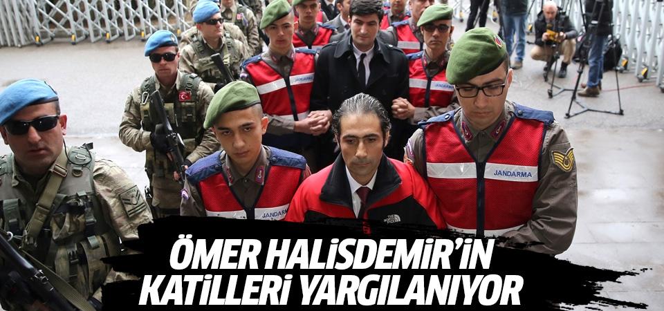 Ömer Halisdemir'in katilleri yargılanıyor