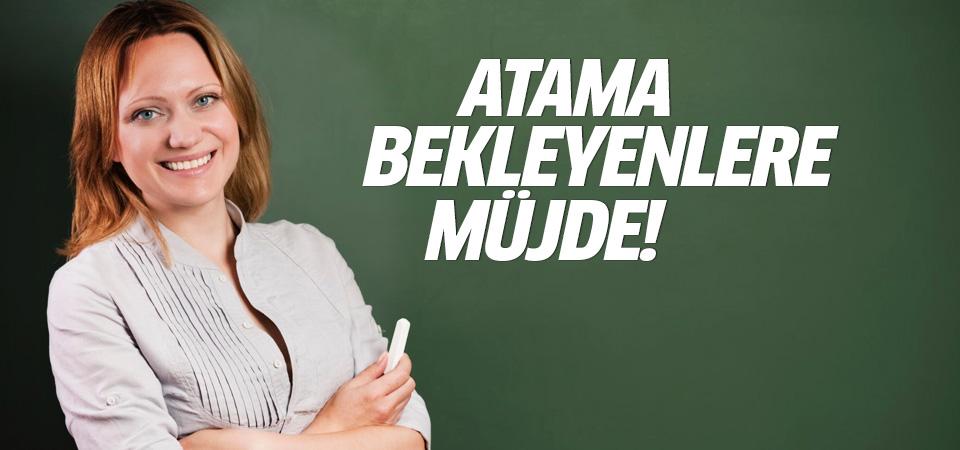 Başbakan Yıldırım'dan atama bekleyen öğretmenlere müjde!