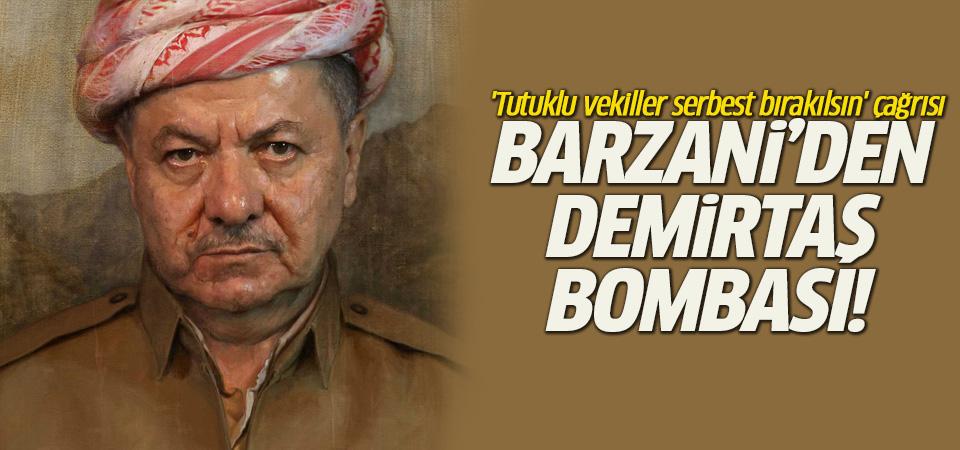 Barzani'den kritik ziyaret öncesi Demirtaş bombası!