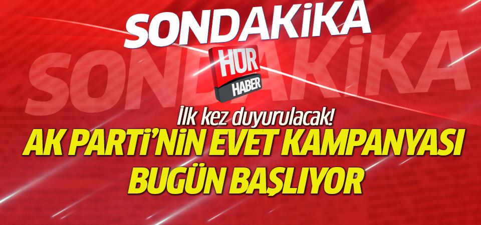AK Parti referandum kampanyası gözler Ankara Arena'da!
