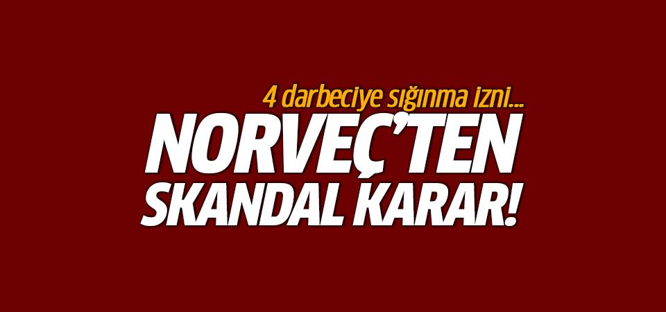 Norveç'ten skandal karar! 4 darbeciye sığınma izni