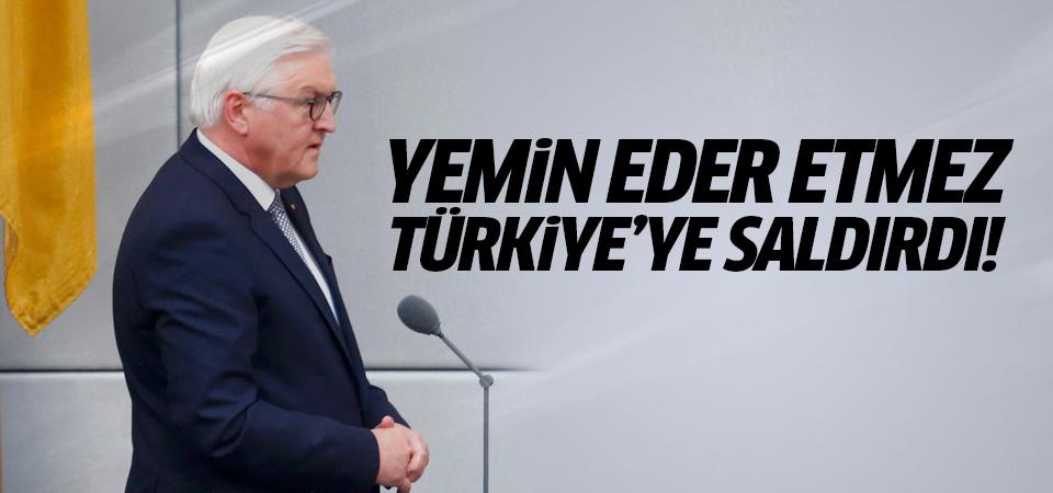 Alman Cumhurbaşkanından Erdoğan'a küstah sözler