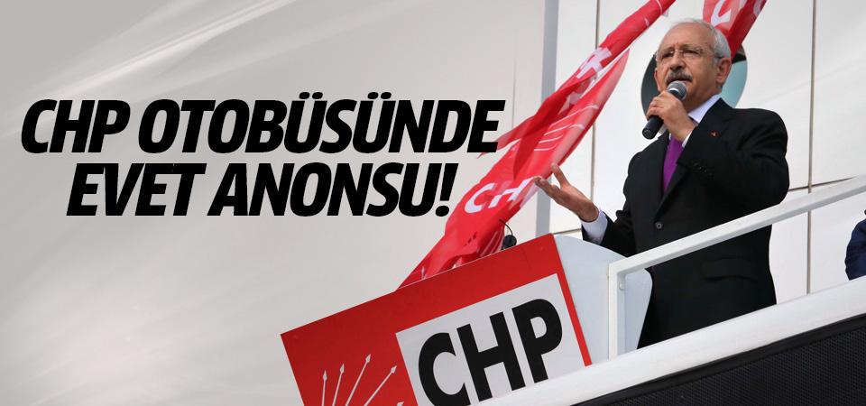 Hayır mitingi yapan CHP'li başkanın 'evet' gafı