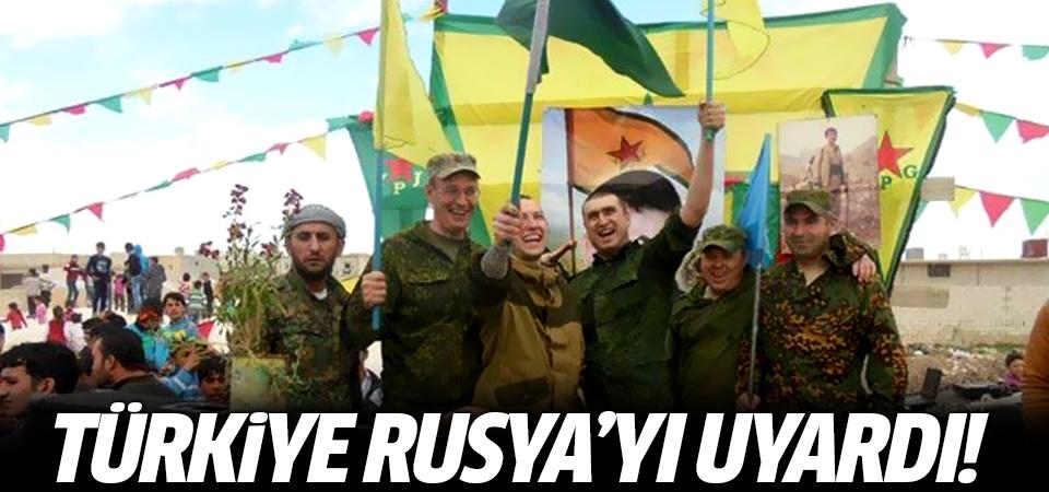 Türkiye Rusya'yı uyardı!