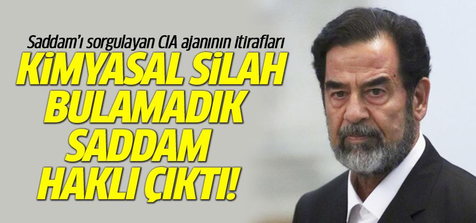 Saddam Hüseyin'i ilk sorgulayan CIA ajanından itiraf