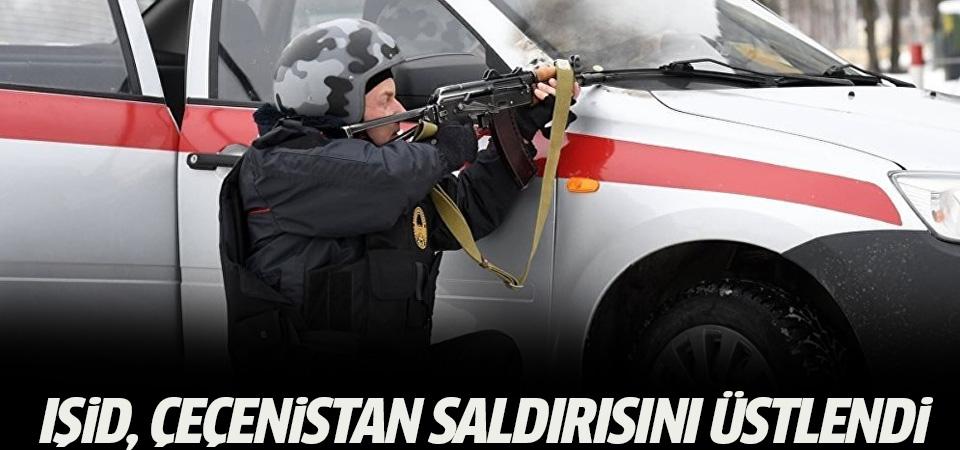 'IŞİD, Çeçenistan saldırısını üstlendi'