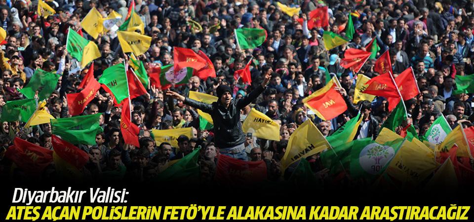 Diyarbakır Valisi: Ateş açan polislerin FETÖ'yle alakasına kadar araştıracağız