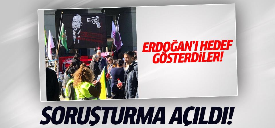 PKK'nın Erdoğan pankartına soruşturma