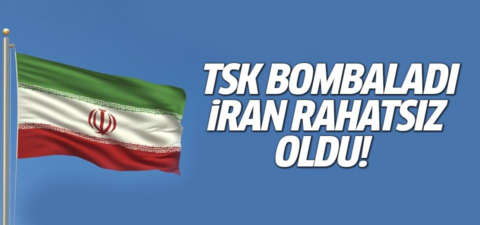 İran TSK'nın bombardımanından rahatsız oldu