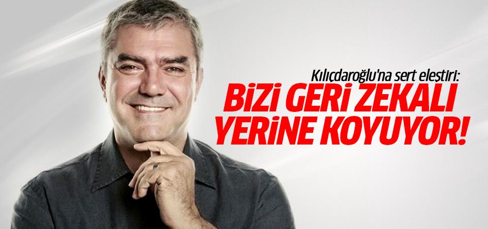 Yılmaz Özdil'den, Kılıçdaroğlu'na eleştiri: Bizi geri zekalı yerine koyuyor!
