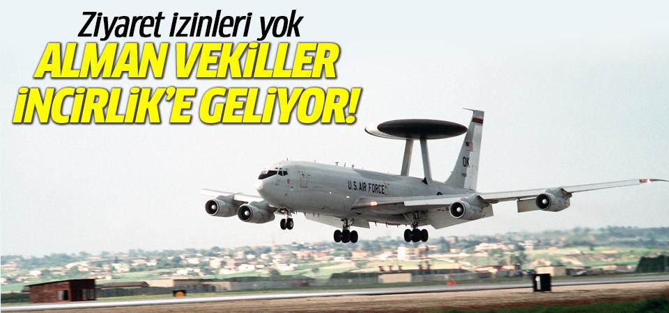 Alman vekiller İncirlik için Türkiye'ye geliyor