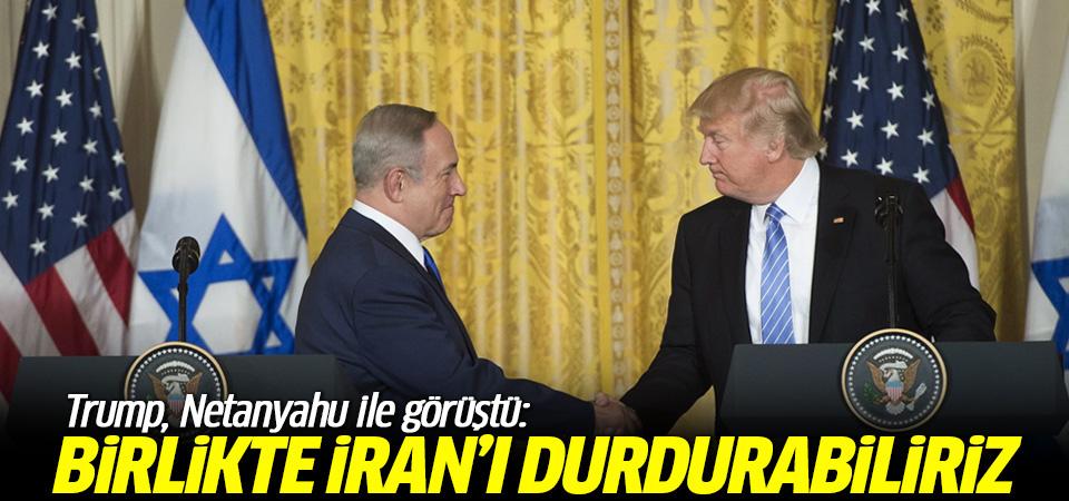 Trump, Netanyahu ile görüştü