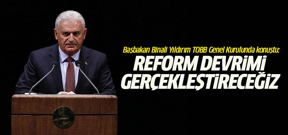Yıldırım: Büyük demokratik dönüşüm sürecini birlikte gerçekleştireceğiz